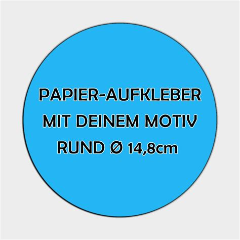 Aufkleber Bestellen Rund by Runde Papier Aufkleber 216 14 8cm Bestellen Versandkostenfrei