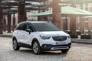 Opel Uk Opel Crossland X 2017 Geneva Motor Show Drive Ride Uk