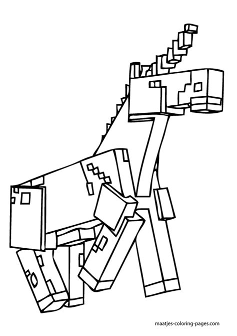 minecraft girl pages coloring pages