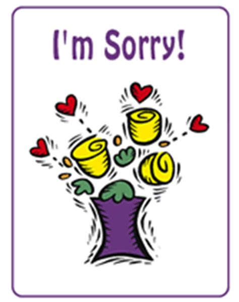 sorry card template i m sorry free printable greeting cards template apology