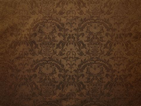 brown damask floral pattern canvas background photohdx