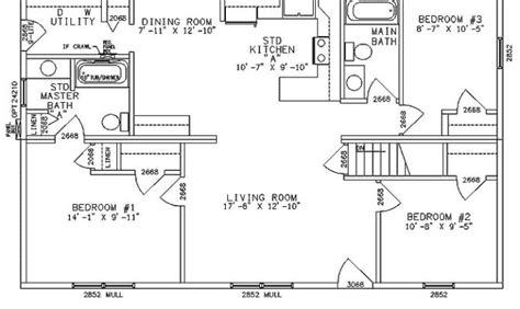 open ranch style floor plans 27 best open floor plans for ranch homes building plans