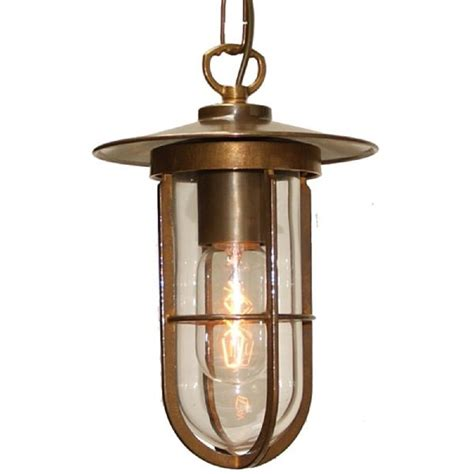Industrial Style Pendant Lighting Vintage Industrial Style Hanging Ceiling Pendant Light In Antique Brass