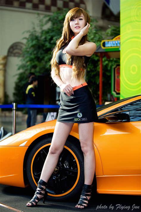 hwang mi hee  xbox  invitational sexy girl cute girl