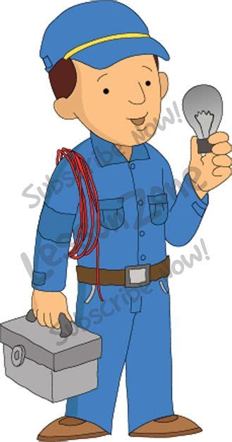 Helper Electrician by Lesson Zone Au Community Helpers