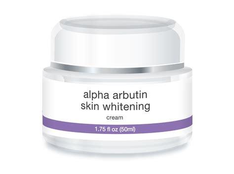 Lotion Arbutin Whitening label for pigment correction fusion scientific