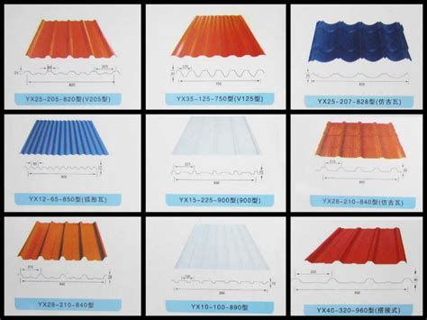 sheet types ibr iron ppgi gi metal roof tile corrugated steel roofing