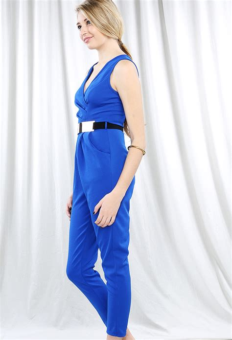 Jumpsuit Now 1 classic belted jumpsuit shop new and now at papaya clothing