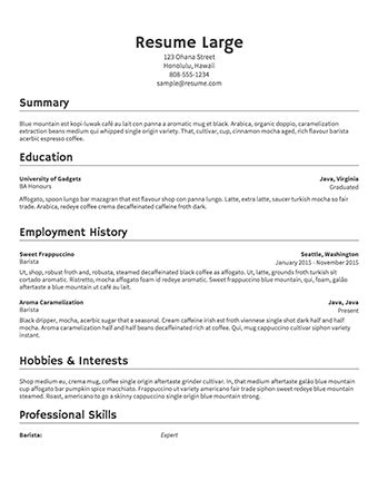 Resume Builder by Free R 233 Sum 233 Builder Resume Templates To Edit