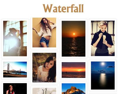 pinterest layout plugin waterfall jquery plugin for pinterest like layout