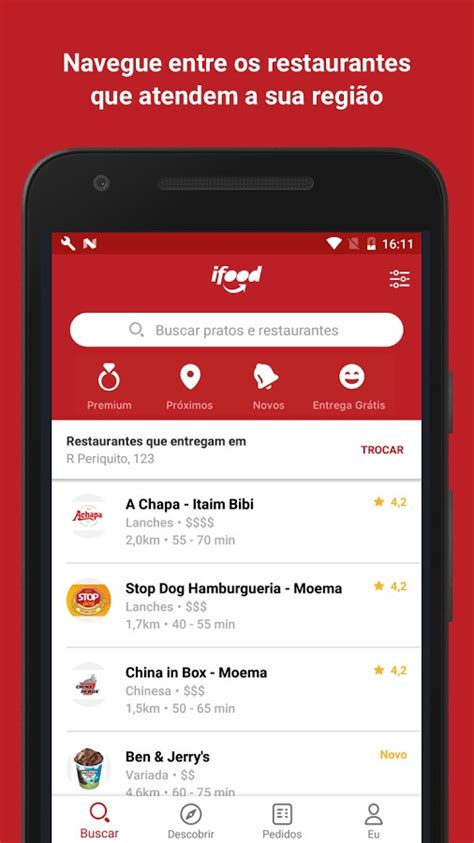 I Food ifood delivery de comida