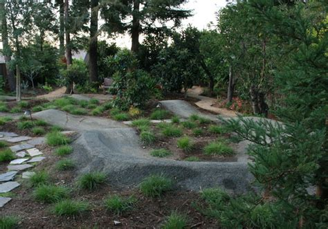 backyard bmx track design garden with pump track