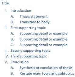 How To Write An Outline For A Research Paper by Wsu Empower Choosing Your Topic