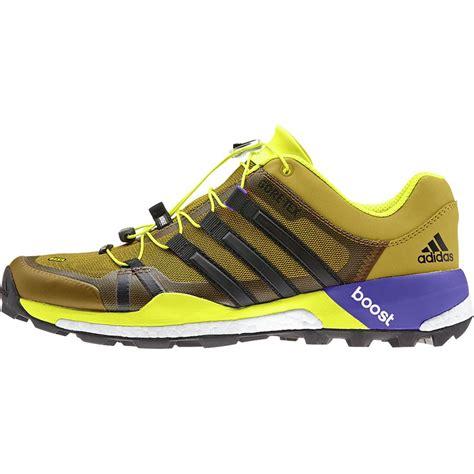 outdoor running shoes adidas outdoor terrex boost gtx trail running shoe s