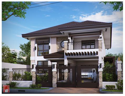 Narrow Lot 2 Story House Plans by Get Some Inspiration From These Beautiful Two Storey