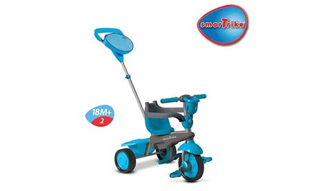 smart trike swing smart trike swing 4 in 1 trike blue kids george at asda