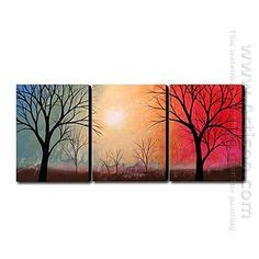 3 Painting Set by 1000 Images About Painted Canvas Painting Sets On