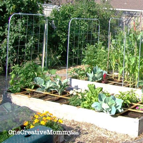 Square Foot Gardening Ideas Square Foot Garden Plans For Onecreativemommy