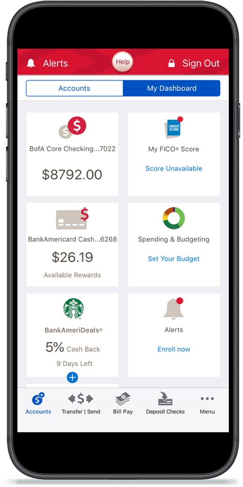 mobile banking bank of america mobile and banking benefits features from bank of