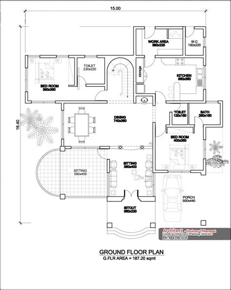 new house design with floor plan kerala style house designs and floor plans homeminimalis