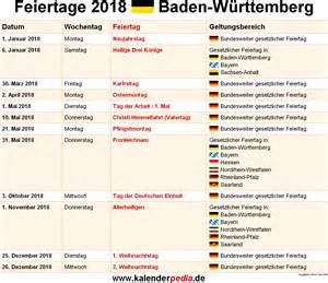Kalender 2018 Fasching Baden Württemberg Feiertage Baden W 252 Rttemberg 2017 2018 2019