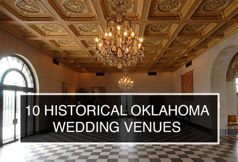 Wedding Venues Oklahoma by Tulsa Venues