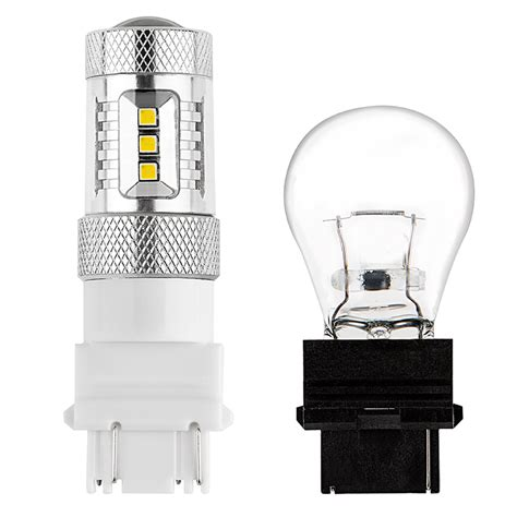 3157 Led Light Bulbs 3157 Led Bulb W Focusing Lens Dual Function 15 Smd Led Tower Wedge Retrofit Led Brake