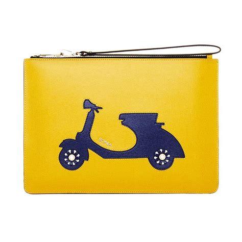 Joyful Clutch jual bonia joyful vespa mini pouch clutches yellow