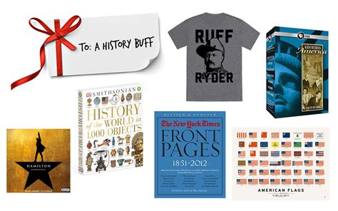 holiday gift guides gifts for a history buff