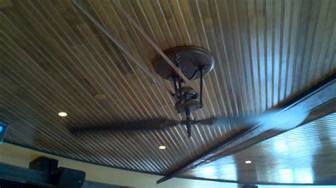 belt driven ceiling fan a brewmaster from fanimation ceiling fan with leather