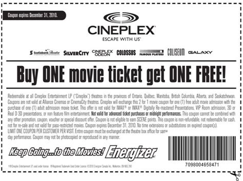cineplex free movie offer eventiq blog go see a movie for free all the latest