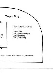 tea cosy template free teapot cozy pattern soundstitches sewing