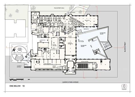 royal ontario museum floor plan royal ontario museum m s daniel libeskind page