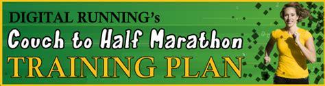 couch to mini marathon couch to half marathon plan digital running club