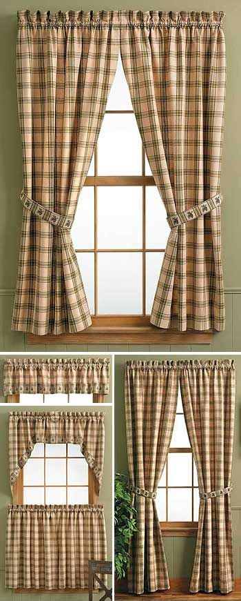 lodge style kitchens lodge style curtains blinds