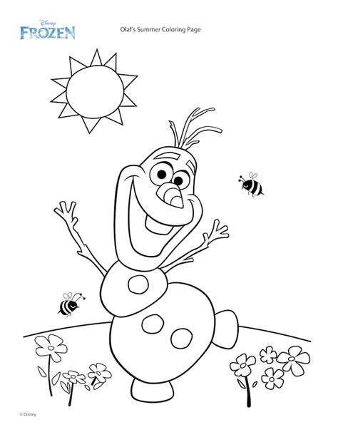 frozen party frozen coloring pages summer coloring
