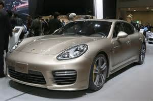 Porsche Panamera S Price 2014 Porsche Panamera Turbo S Executive Front Three