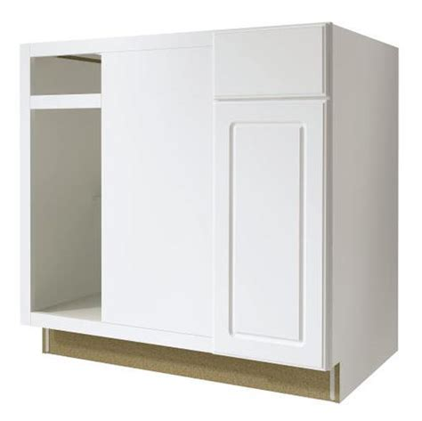 menards value choice cabinets value choice 36 quot ontario white reversible blind corner