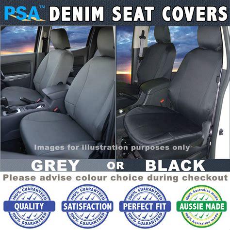Seat Covers Landcruiser 100 Series Denim Seat Covers Toyota Landcruiser 100 Series Gxl Rv