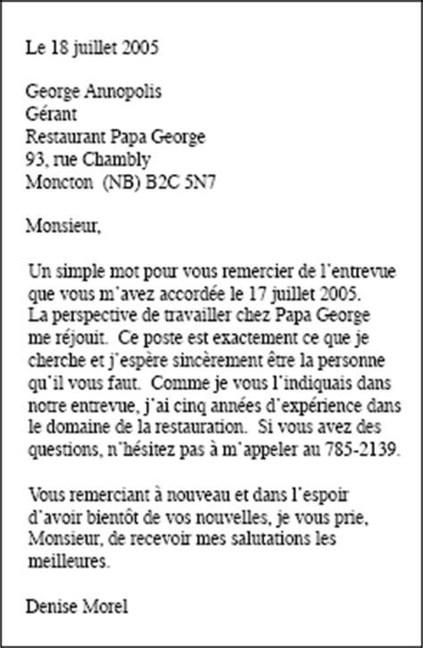 Exemple De Lettre De Remerciement Pour L Obtention D Une Bourse Une Demande D Emploi En Fran 231 Ais Exemple Employment Application