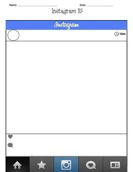 1000 Images About Classroom On Pinterest Literature Writing And Student Instagram Post Planner Template