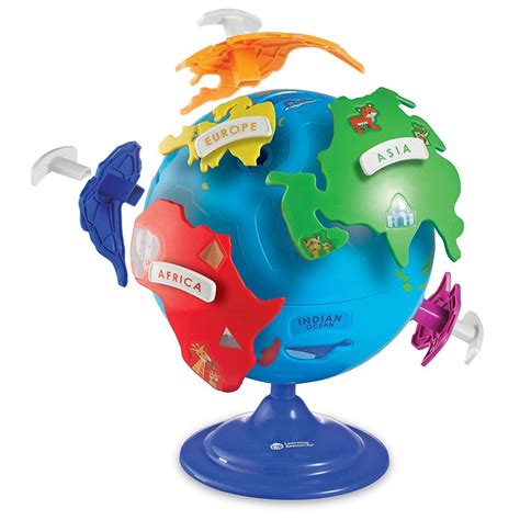 Learning Puzzle learning resources puzzle globe babyonline