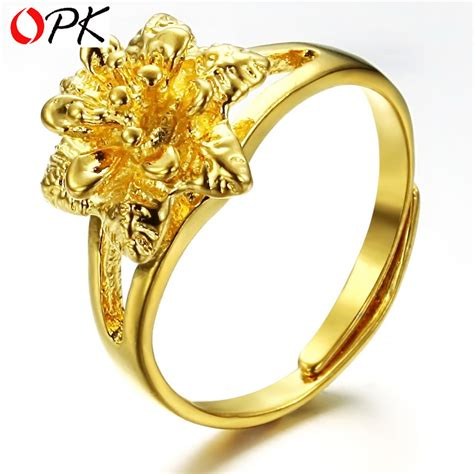 gold wedding ring price opk jewelry top quality wedding