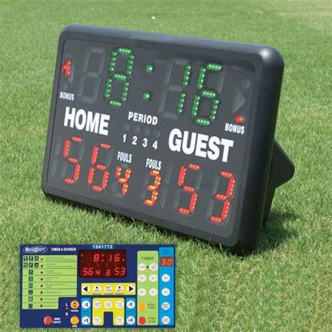 backyard scoreboards indoor outdoor tabletop scoreboard bsn sports