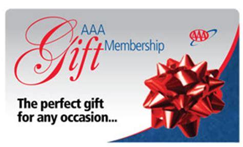 Aaa Gift Cards - aaa gift membership