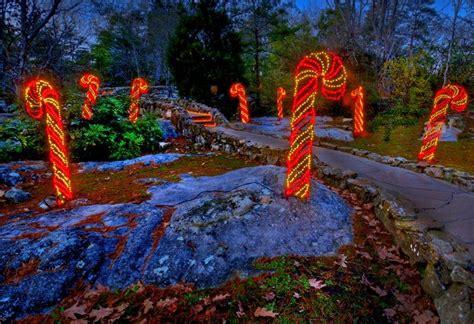 enchanted rock garden rock city s enchanted garden of lights the pulse
