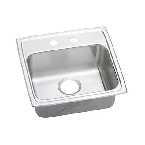27 Kitchen Sink Elkay Innermost Drain Dual Mount Stainless Steel 27 In 4 Single Bowl Kitchen Sink