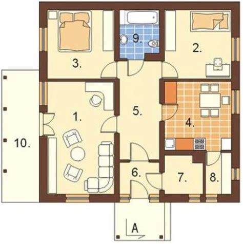imagenes de planos de casas planos de casas de 2 dormitorios 60 metros