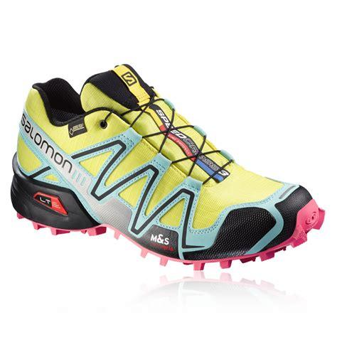 salomon speedcross 3 gtx trail running shoe salomon speedcross 3 gtx s trail running shoe ss16