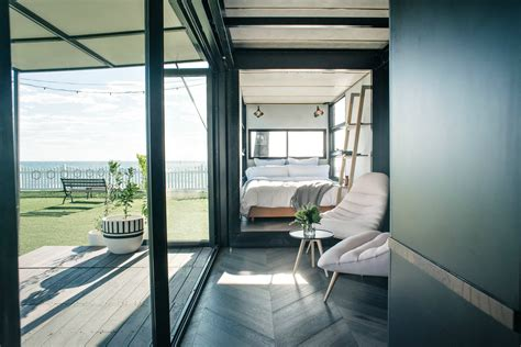 container bed by dielle 171 inhabitat green design innovation architecture green building this shipping container hotel is so cool you ll forget its